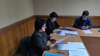 LIVE Бердянск Выборы 2020 Заседание территориальной избирательной комиссии Второй тур