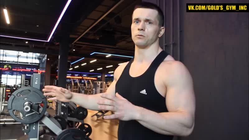Офигенное упражнение для грудных мышц! Других и не требуется.mp4