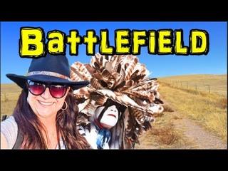 Native American Cheyenne Dog Soldiers vs 5th Cavalry Conflict - Summit Springs Battlefield Colorado