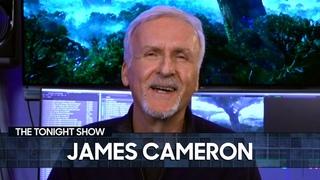 James Cameron Talks Avatar Sequelsand Secretsof the Whales | The Tonight Show