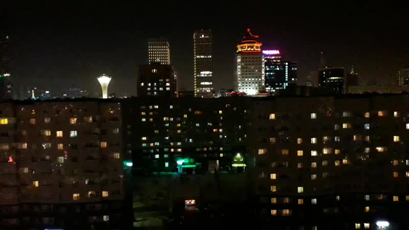 Астана қаласы! Тамсанып, қызығып түсірген видеомғой...  4.02.2019ж.