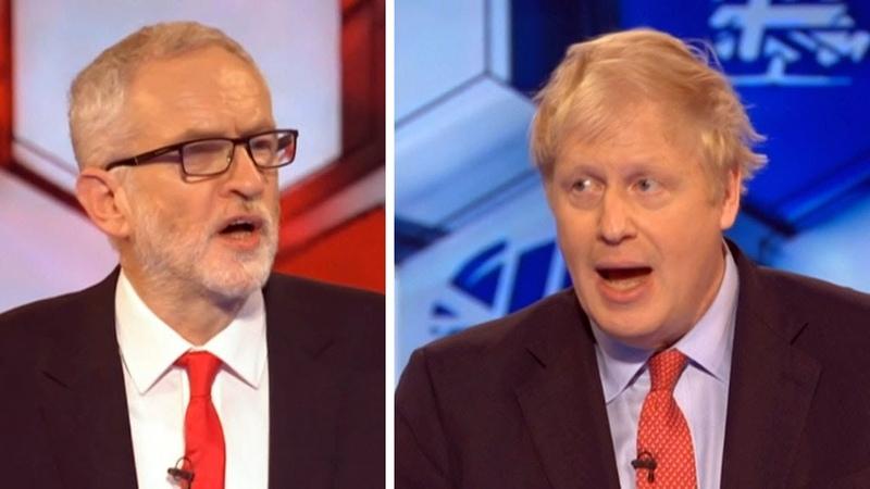 Boris Johnson slams Corbyn's lack of Brexit stance, leadership on BBC election debate