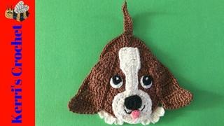 Basset Hound Dog Crochet Tutorial
