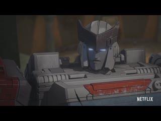 Трансформеры Война за Кибертрон - Осада. /Transformers: War For Cybertron Trilogy - Siege Трейлер #2 на русском