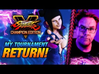 MY TOURNAMENT RETURN! - Back in competitive with Juri? - SFV